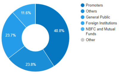 Multibagger stock Prakash Industries Shareholding Patterns
