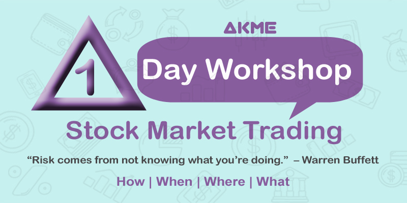 1 Day Workshop in Stock Market Trading